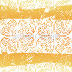 Antiqua Gold Seamless Vector Pattern Design