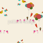A Day In The Park Seamless Vector Pattern Design