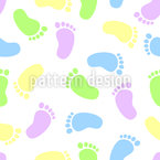 Tootsies Seamless Vector Pattern Design