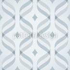 Waves And Diamonds Pattern Design