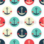 Anchors Of Love Repeating Pattern
