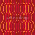 Feuer Wellen Muster Design