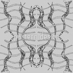 Immortal Modernisme Seamless Vector Pattern Design