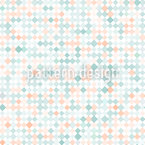 Delicate diamond mosaic Seamless Pattern