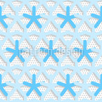 Asterisk On Dots Pattern Design