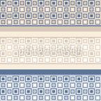 Mosaik Bordüren Nahtloses Vektormuster