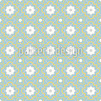 Quatrefoil Connection Seamless Vector Pattern Design
