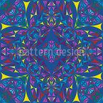 Kaleidoskop Splitter Nahtloses Vektormuster