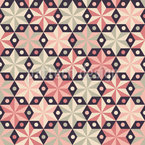 Anise Star Repeat Pattern