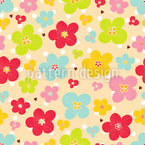 Bloom Boom Motif Vectoriel Sans Couture