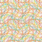 Wellen Linie Nahtloses Vektormuster