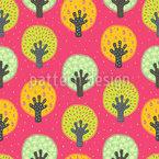 Obstgarten Vektor Muster
