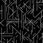 Linien Chaos Nahtloses Vektormuster