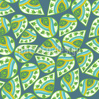 Spring Drops Seamless Vector Pattern Design