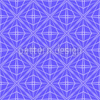Woven Octagons Vector Pattern