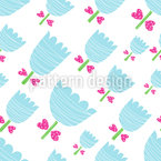 Baby Tulips Pattern Design