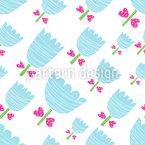 Baby Tulpen Musterdesign