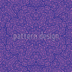 Mandala Melancholy Seamless Vector Pattern Design