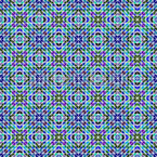Iridescent Mosaic Seamless Vector Pattern Design