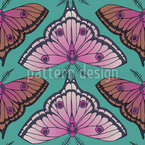 Moth Fantasy Repeat Pattern
