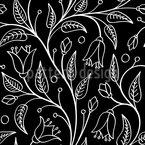 Gravur Floral Vektor Ornament