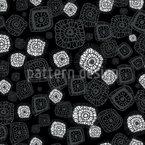Figuras sob o microscópio Design de padrão vetorial sem costura