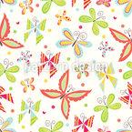 Patchwork Butterflies Repeat