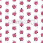Splendid English Roses Seamless Vector Pattern Design