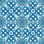 Stern Mosaik  Nahtloses Vektormuster
