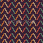 Zig Zag Folding Seamless Vector Pattern Design