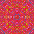 Kaleidoscopic Vision Seamless Vector Pattern Design