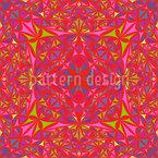 Kaleidoskop Vision Nahtloses Muster