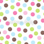 Soap Bubbles Fun Vector Pattern