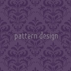 Lilac Baroque Seamless Vector Pattern Design