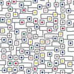 Ausgangspunkte Im Quadrat Rapportiertes Design