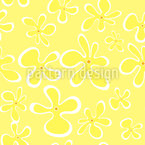 Hippie Flowers Vector Ornament