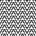 Trapped Chevron Seamless Vector Pattern Design