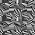 Geometric Chaos Seamless Vector Pattern Design