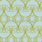 Romantic Arcades Seamless Vector Pattern