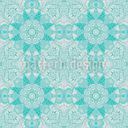 Marvellous Winter Ornaments Seamless Vector Pattern Design