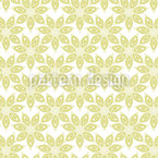 Anis Flores Design de padrão vetorial sem costura