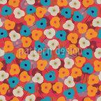 Felicidad Floral Design de padrão vetorial sem costura
