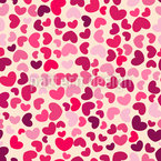 So Many Hearts Seamless Pattern