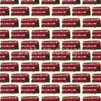 Doppeldecker Bus Vektor Ornament