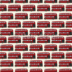 Double Decker Bus Vector Ornament