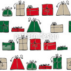 Wunschpunsch Weihnacht Nahtloses Vektormuster