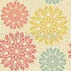 Star Beauties In The Sand Seamless Vector Pattern Design