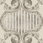 Queen Victoria Seamless Vector Pattern Design