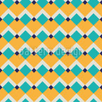 Summer To The Square Seamless Vector Pattern Design