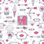 Liebe Und Andere Dinge Musterdesign